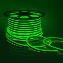 Светодиодный НЕОН (мини), 6Вт/м, 8х16.5 мм, Зеленый