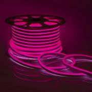 Светодиодный НЕОН (мини), 6Вт/м, 8х16.5 мм, Розовый