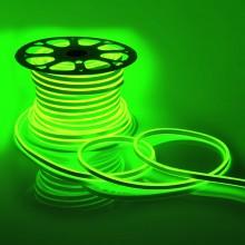 Светодиодный НЕОН (две стороны свечения), 6Вт/м, 8.5х18.5 мм, Зеленый