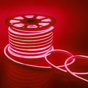 Светодиодный НЕОН, 8Вт/м, 10.5х18.5 мм, Красный