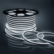 Светодиодный НЕОН (мини), 6Вт/м, 8х16.5 мм, Холодный Белый