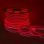 Светодиодный НЕОН (мини), 6Вт/м, 8х16.5 мм, Красный