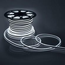 Светодиодный НЕОН (две стороны свечения), 6Вт/м, 8.5х18.5 мм, Холодный Белый