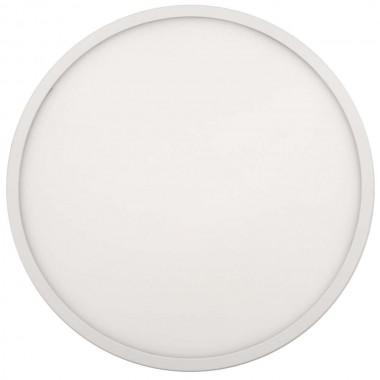 Светодиодная панель накладная круглая 220В, 24Вт, 4500К