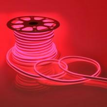 Светодиодный НЕОН (две стороны свечения), 6Вт/м, 8.5х18.5 мм, Красный