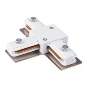 Коннектор Т-образный для однофазного шинопровода белый TRC-1-1-T-WH