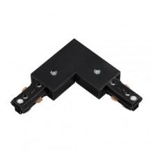 135009 PORT NT18 015 черный Соединитель с токопроводом L-образный для однофазного шинопровода