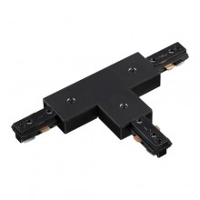 135011 PORT NT18 015 черный Соединитель с токопроводом T-образный для однофазного шинопровода
