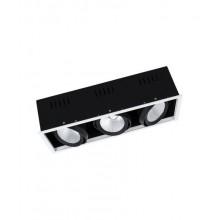 Карданный светильник OSRAM  SP MULTI 3 x 30W/3000K FL WT/BK