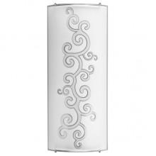 Настенно-потолочный светильник Nowodvorski ARABESKA silver 2 3697