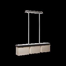 Люстра BENETTI Modern Rigorosit? венге/кремовый, 3xE14, коллекция MOD-403