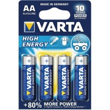 Батарейки VARTA AA High Energy (4 шт)